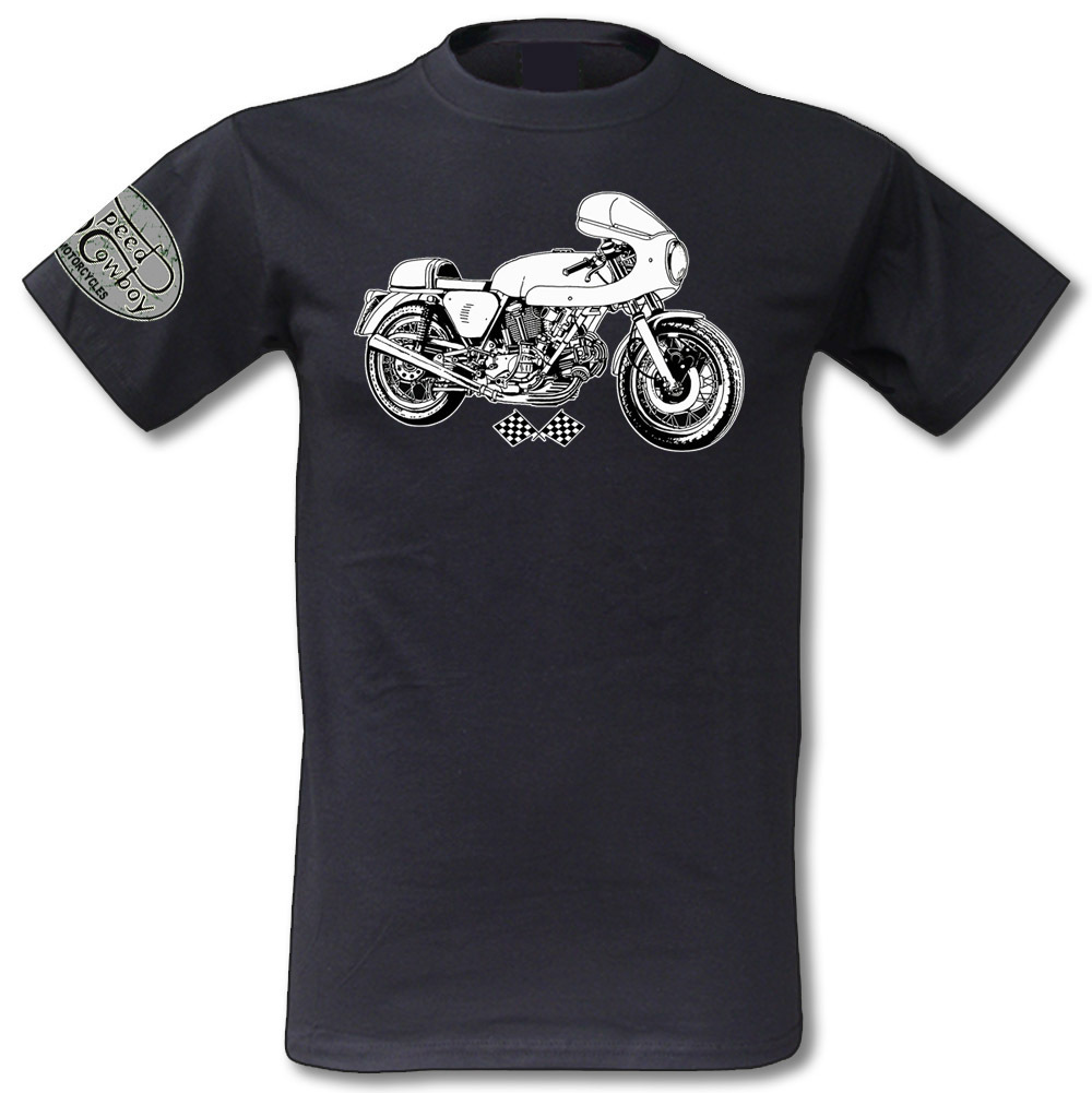 Motorcycle Racing T-Shirt Ducati SS900 Cafe Racer Motorrad