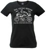 Girl T-Shirt The Flying Boxers Motorcycle Print vorn von S-XL